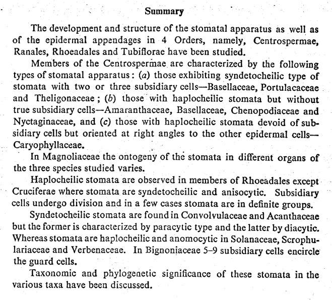 Stomata In Angiosperms Plant Stomata Encyclopedia