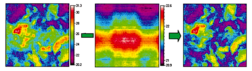 Infrared thermography for monitoring stomatalclosure